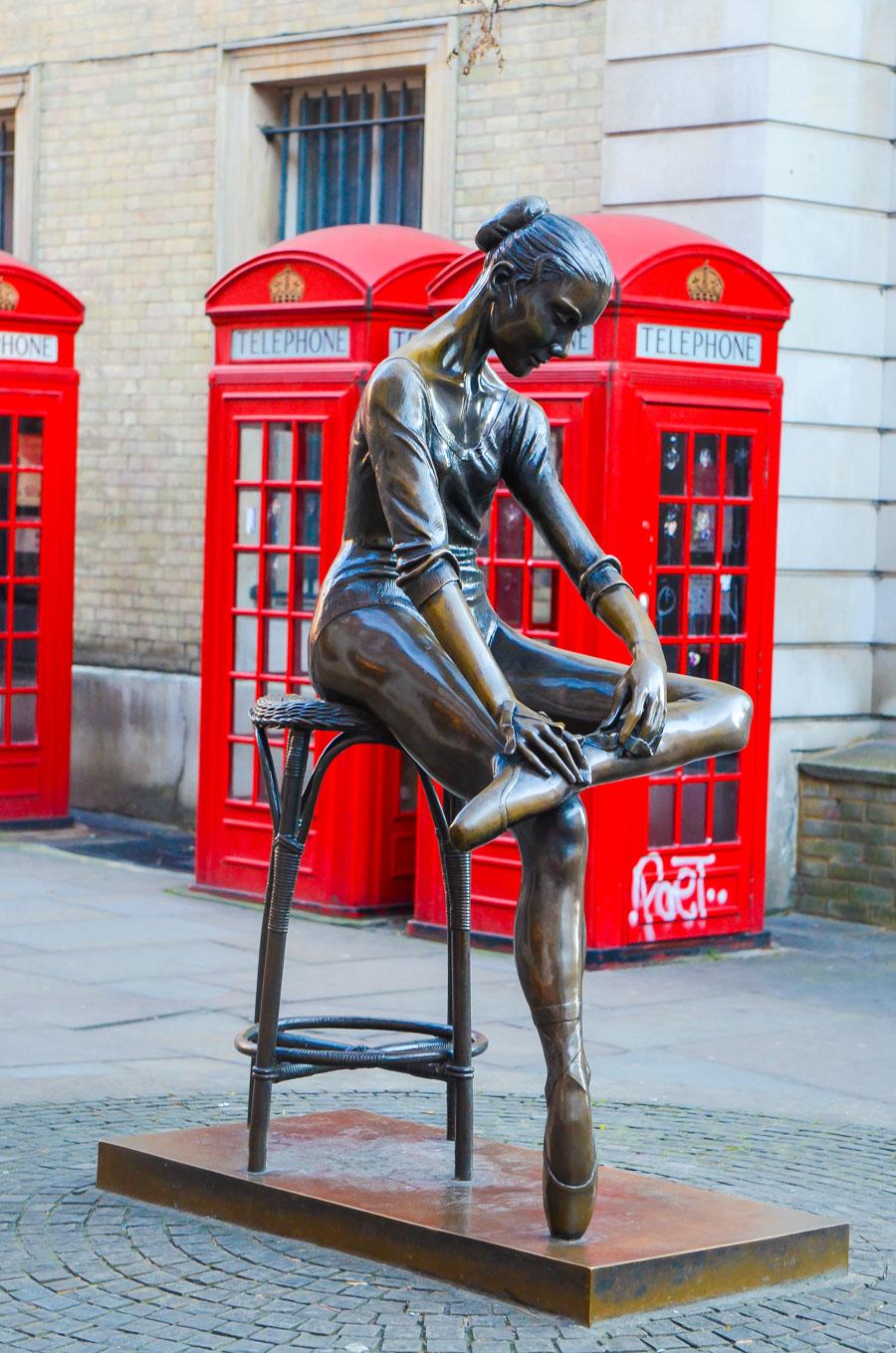 Authentic London Walking Tours in Soho + Covent Garden | Ballerina Statue