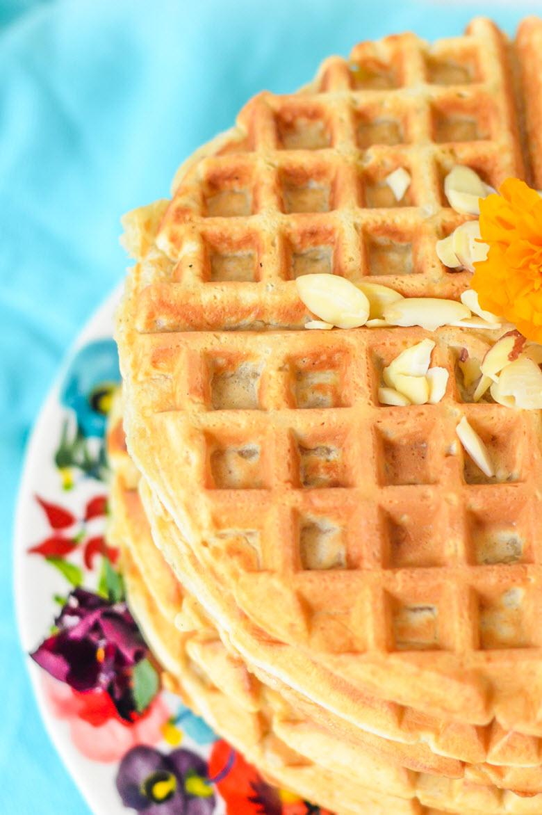 Vanilla + Cardamom Waffles
