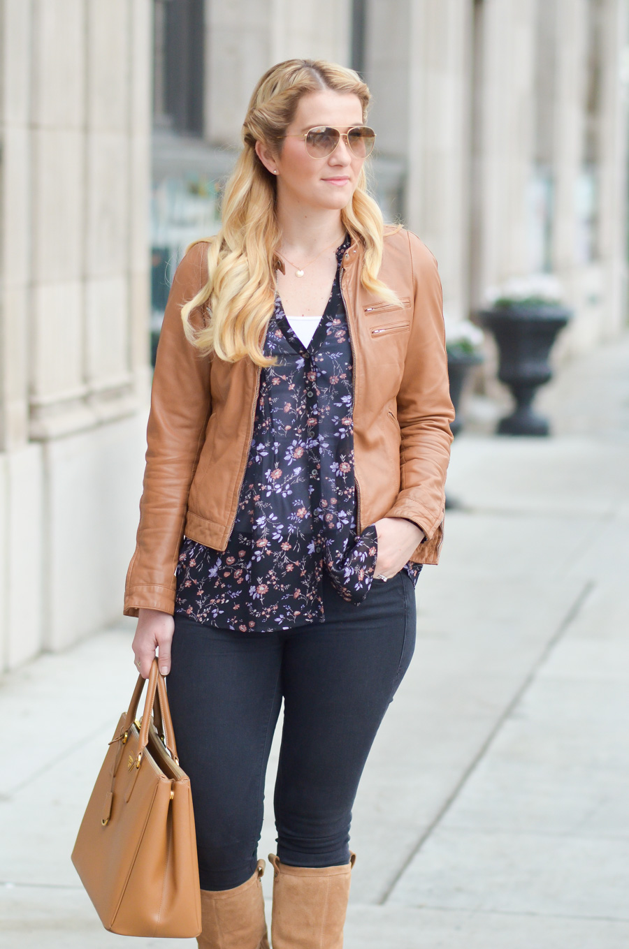 Tan Boots With Black Jeans Chic Outfit Luci S Morsels
