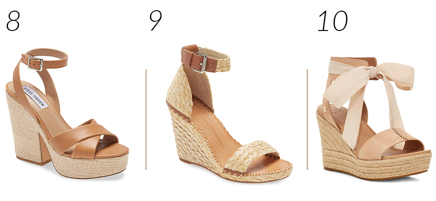 Comfortable Wedge Sandalss for Spring and Summer