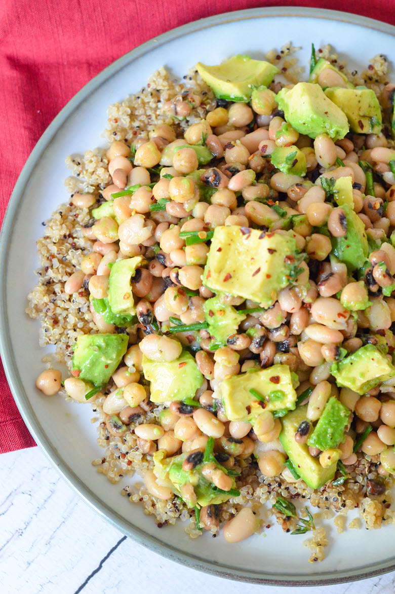 Avocado + Three Bean Salad