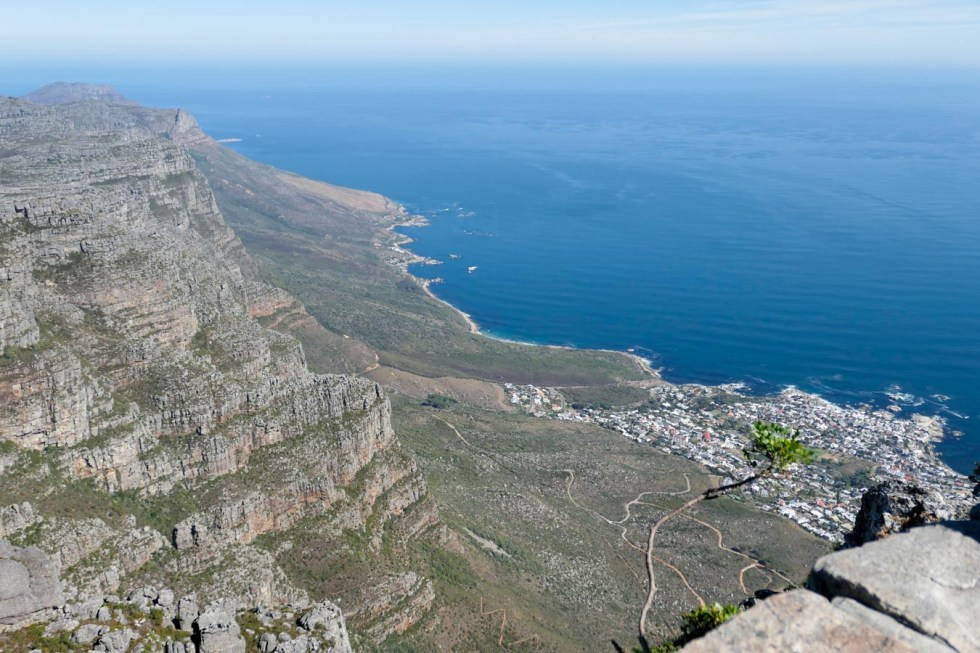 Activities in Cape Town Travel Blog - V&A Food Market - Table Mountain
