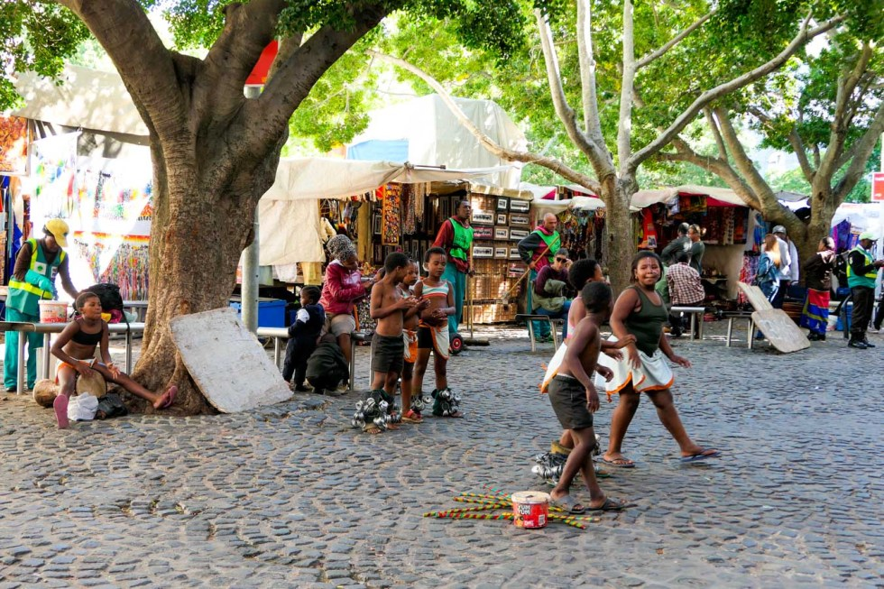 Activities in Cape Town Travel Blog - Greenmarket Square