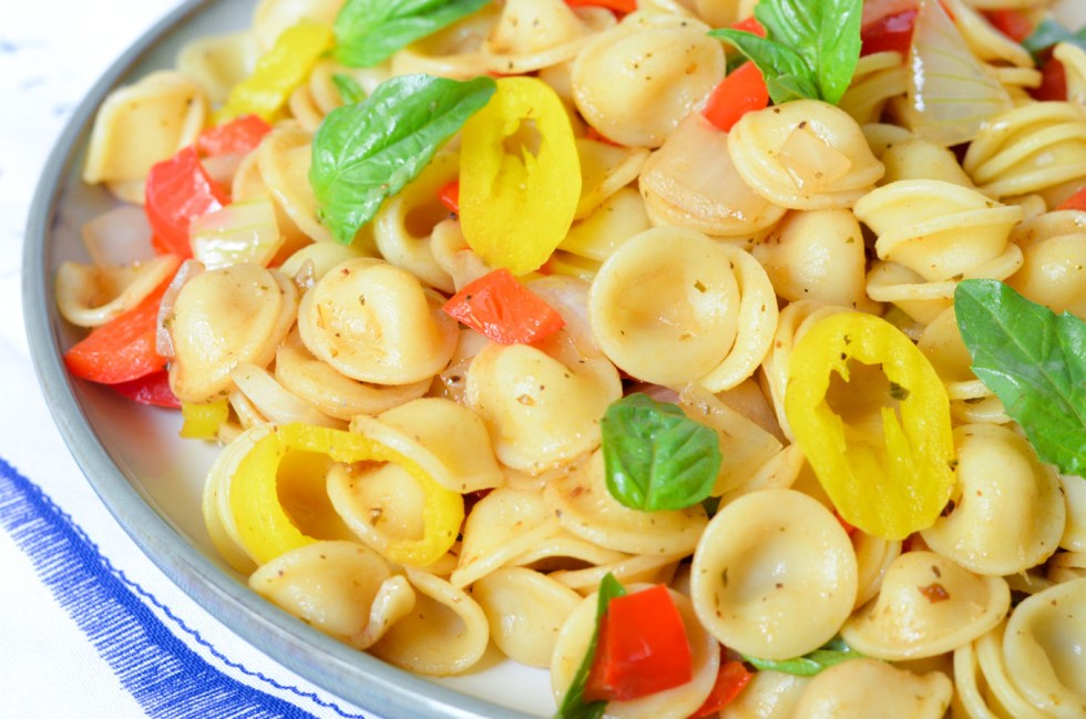 Easy Veggie Pasta Salad Recipe