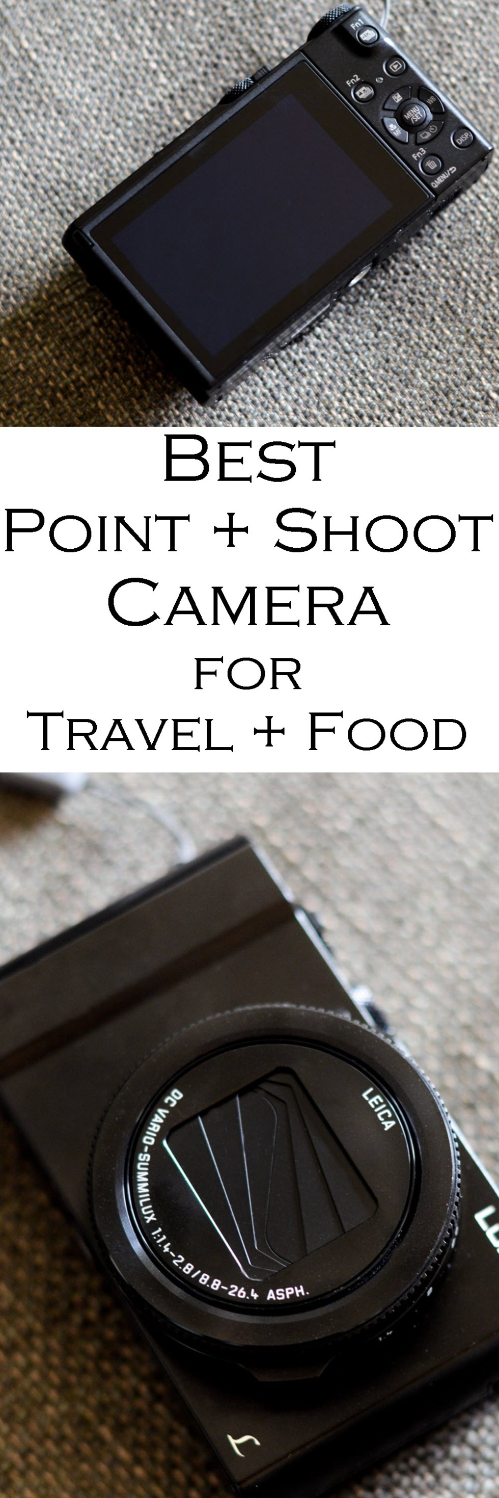 Best Point + Shoot Camera for Food, Travel, and Everything On the Go, including post-shot focusing and 4K video