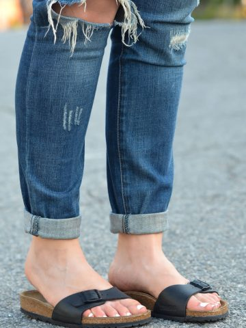 Madrid Birkenstocks + Jeans - Chic Birkenstocks Outfit Ideas for Women-