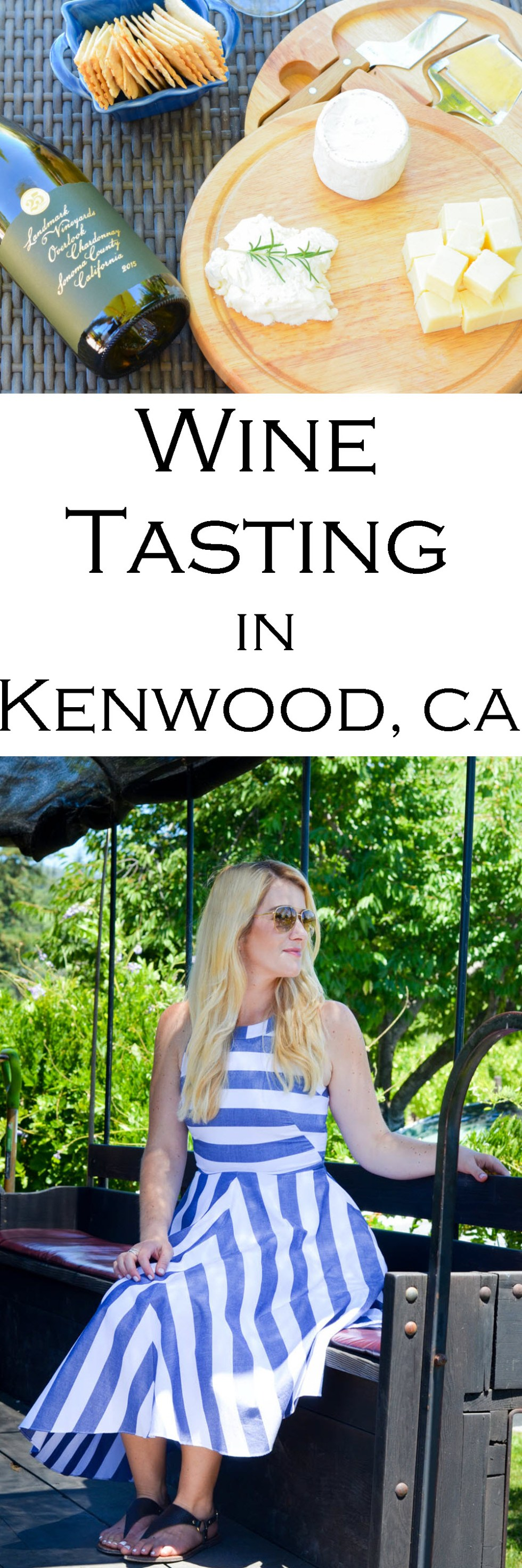 Landmark Vineyards in Kenwood, CA - Great Winery near Santa Rosa. Wine Tasting Outfit Ideas
