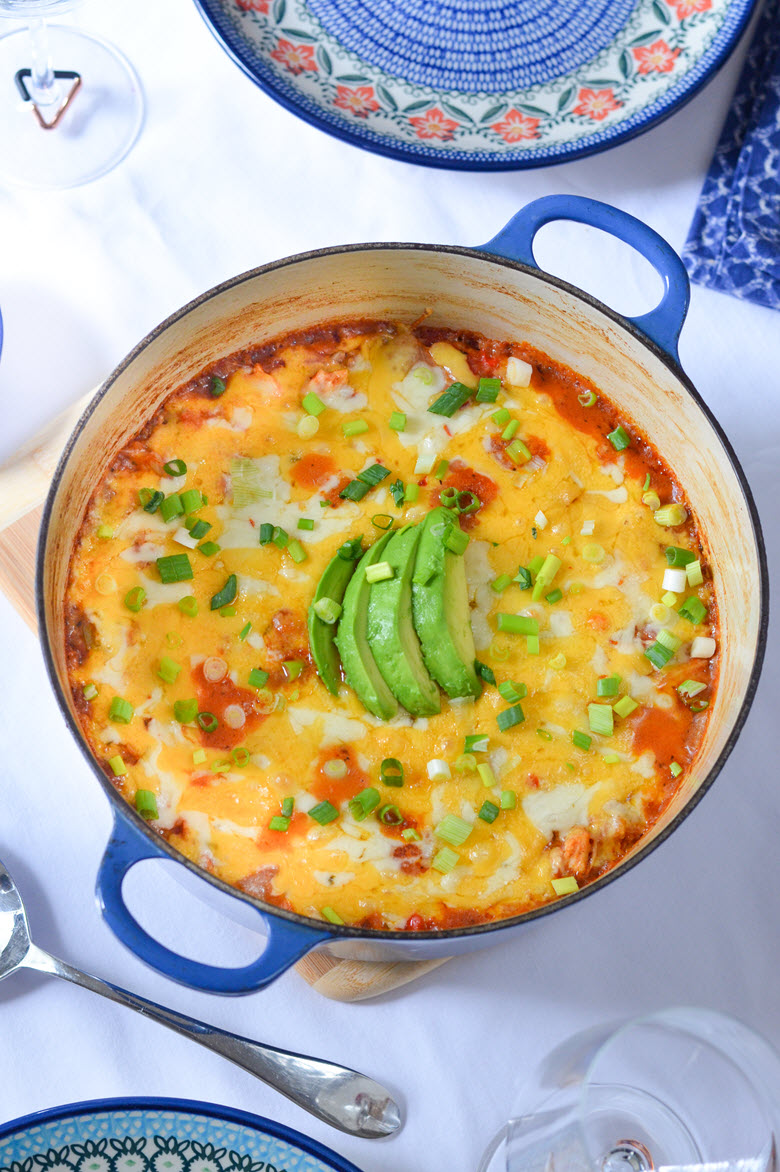 One Pot Mexican Casserole