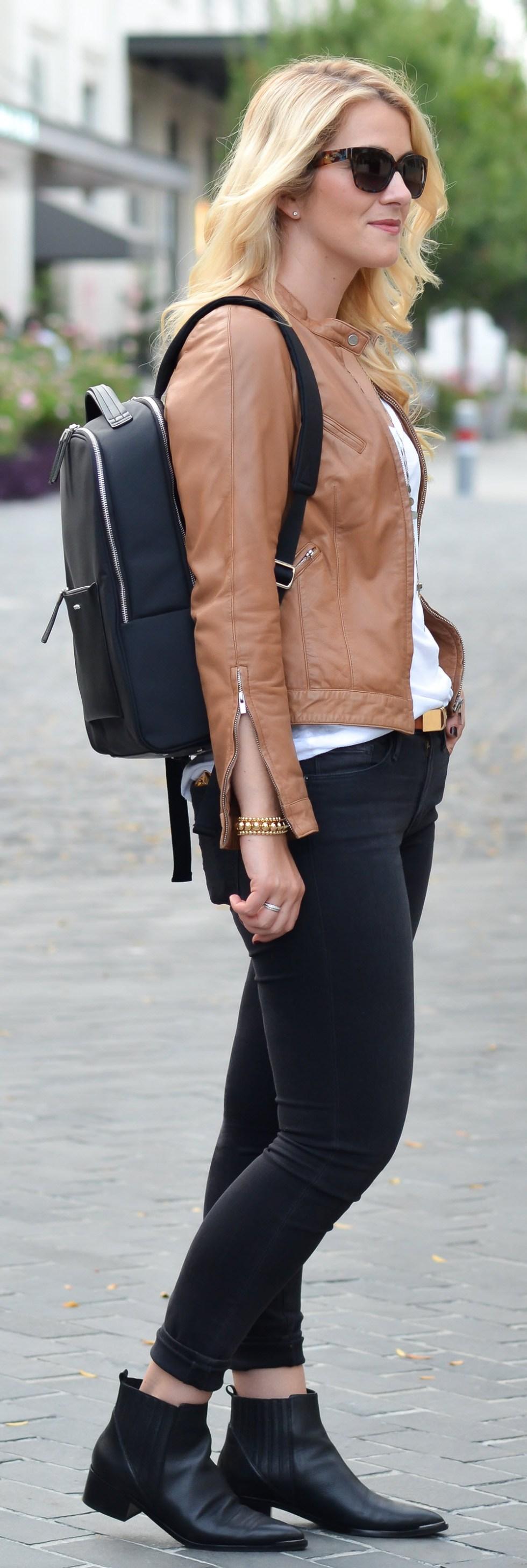 Best Travel Work Bags for Stylish Women. Chic Work Laptop Backpack - Samsonite Zalia Backpack Review