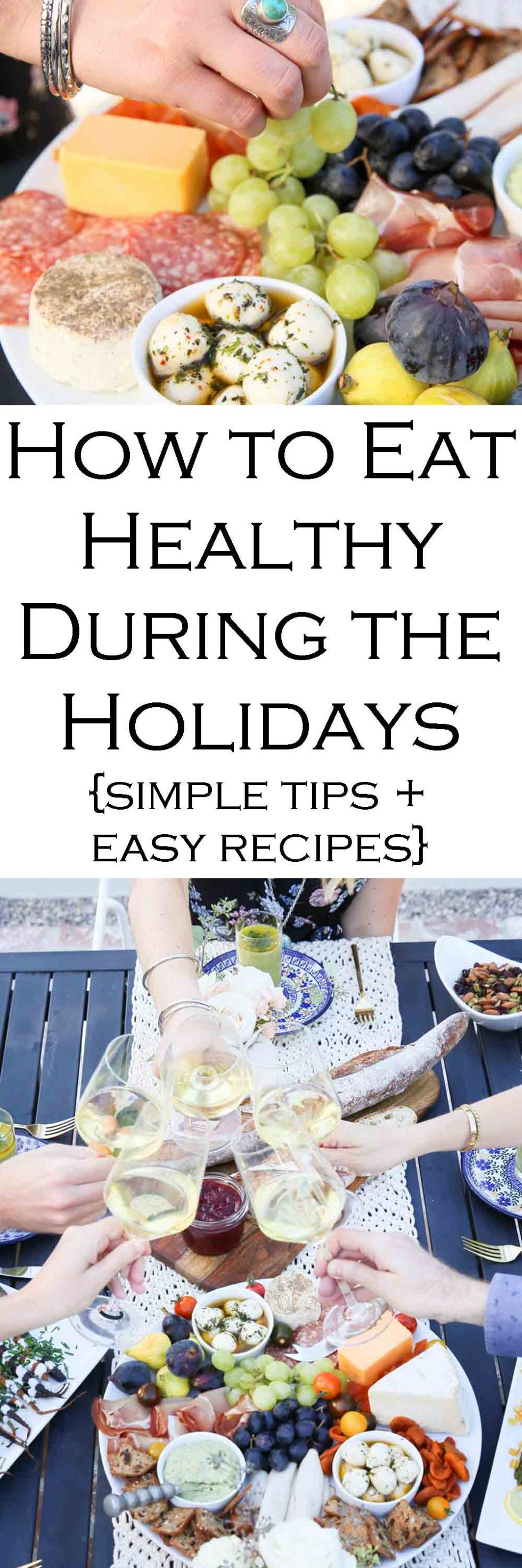Healthy Holidays | How to Eat Healthy During the Holidays. Healthy Tips to Avoid Overeating. #recipes #healthy #holidays #holidayseason #healthythanksgiving #thanksgivingrecipes #healthychristmasrecipes #christmasparty #christmaspartyrecipes #LMrecipes #healthytips #healthtips