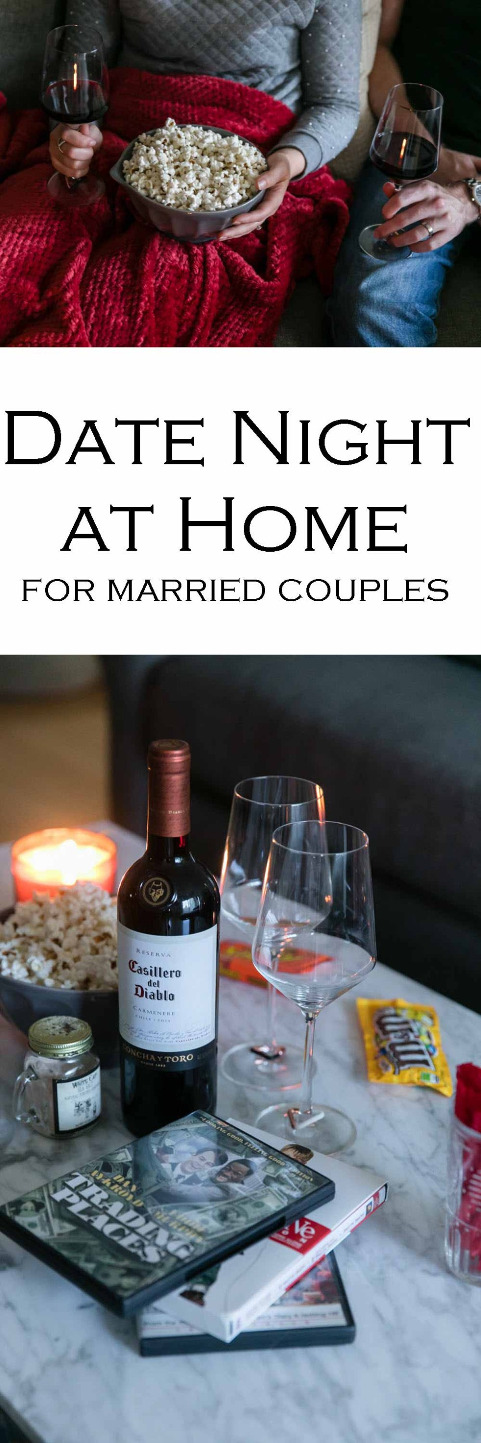 Date Night at Home - Movie Night for Married Couples #datenight #datenightideas #movies #movienight #marriage #love #romance