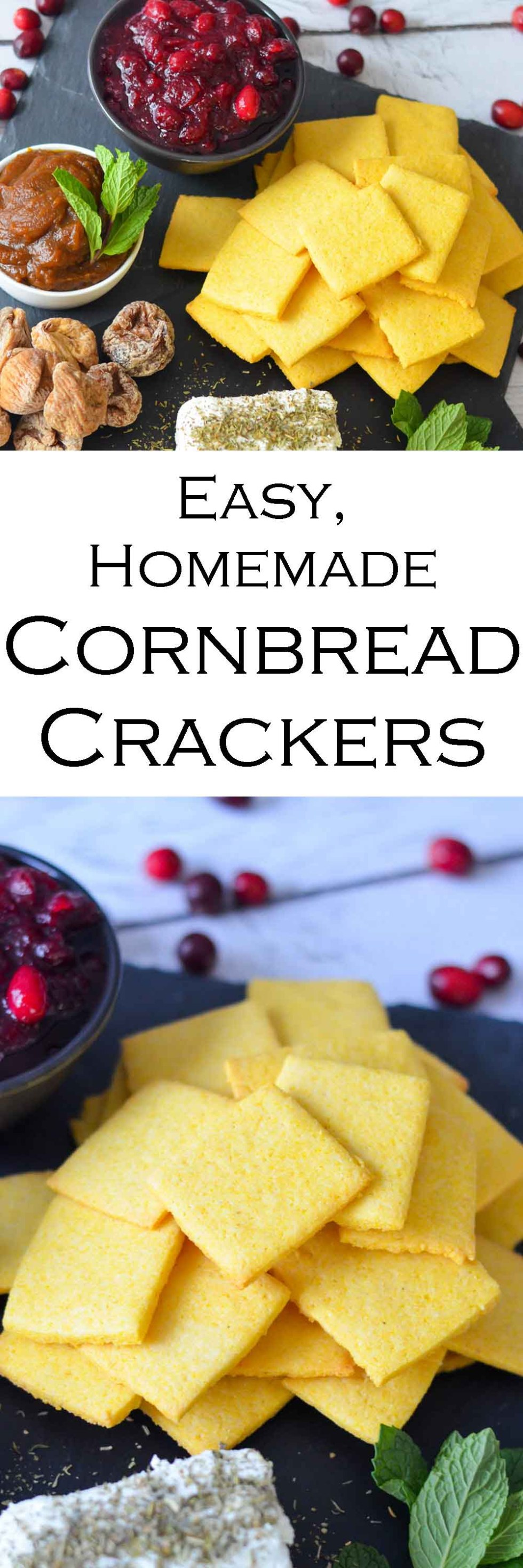 Easy Cornbread Crackers Recipe #LMrecipes #pumpkin #thanksgiving #christmas #holidayparty #holidaypartyfood #traderjoes #pumpkin #appetizers #homesteading #foodblog #foodblogger