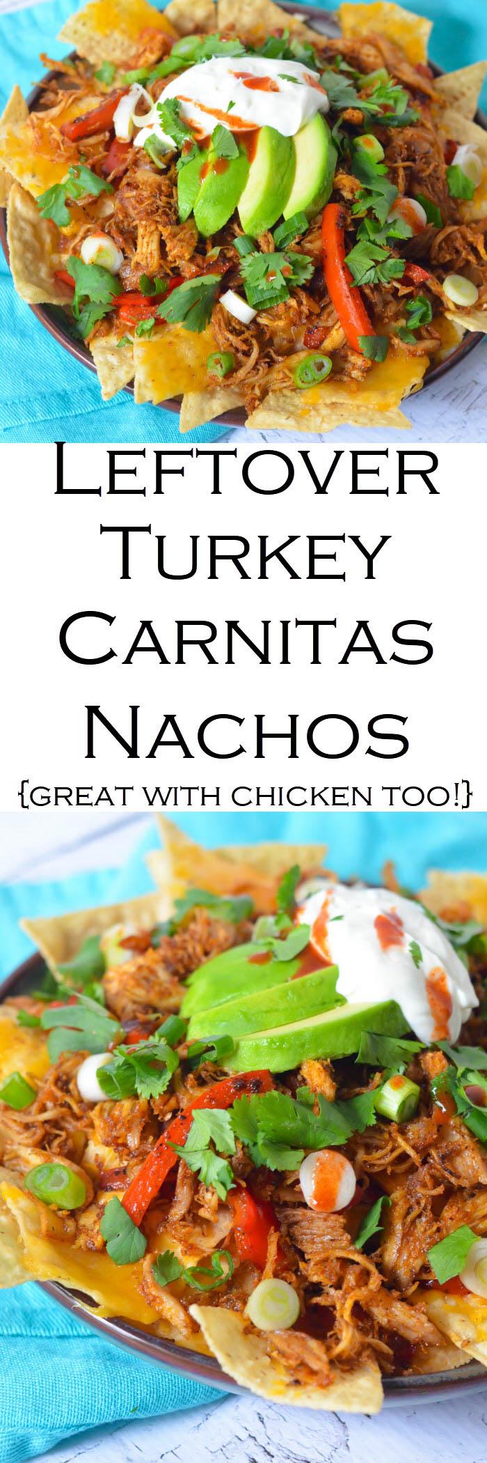 Leftover Turkey Carnitas Recipe #LMrecipes #turkey #carnitas #thanksgiving #thanksgivingleftovers #mexicanfood #foodblog #foodblogger