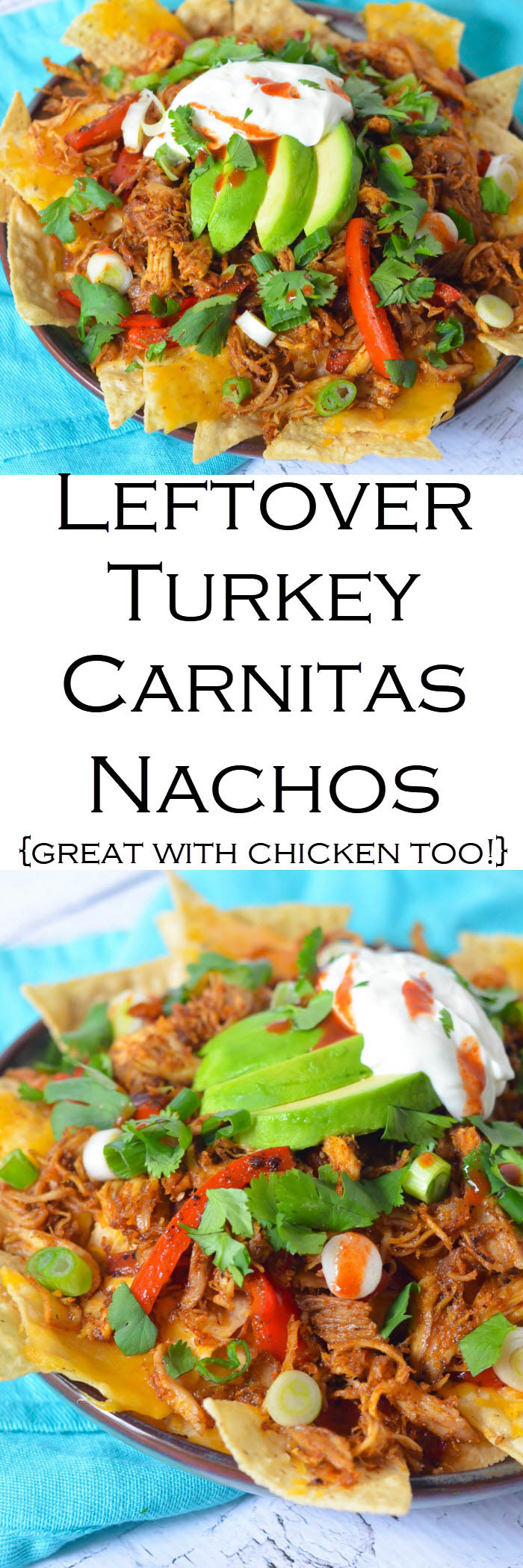 Leftover Turkey Carnitas Recipe #LMrecipes #turkey #carnitas #thanksgiving #thanksgivingleftovers #mexicanfood #foodblog #foodblogger