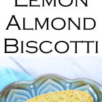 Lemon Almond Biscotti No Butter No Drizzle #cookies #biscotti #cookierecipe #italiancookies #LMrecipes #foodblog #foodblogger #lowfat #lemon #almond #coffee
