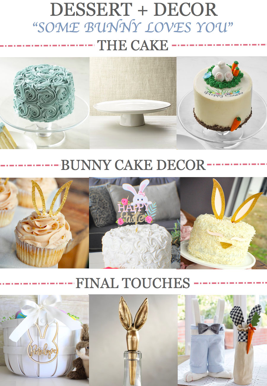 Easter Table Decor Ideas for Dessert 2018