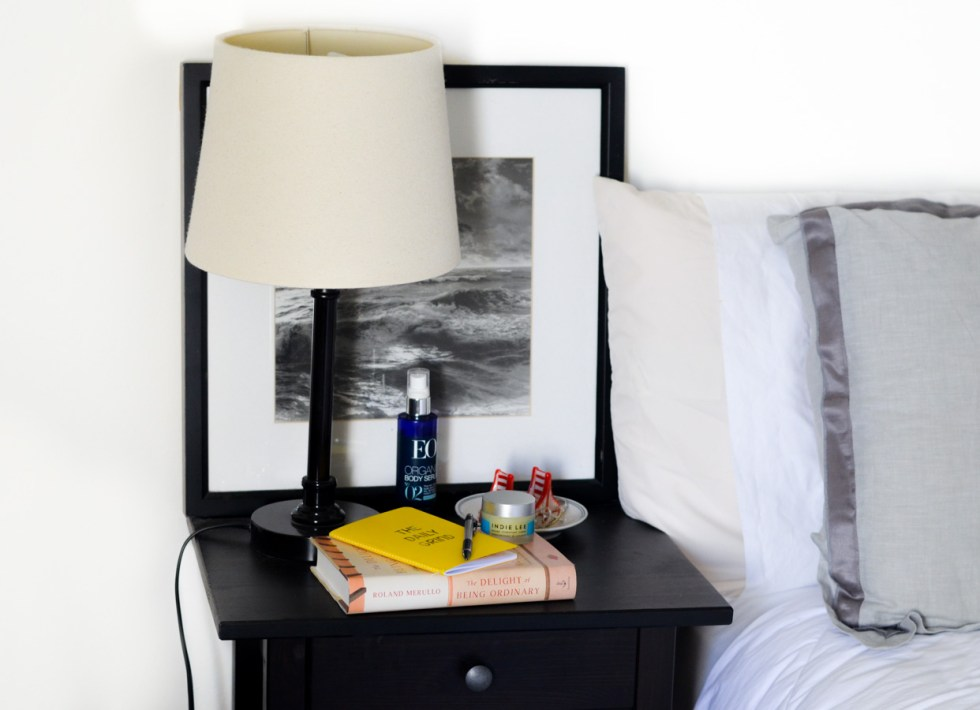 Nightly Routine Before Bed - Nightstand