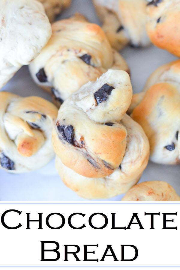 Chocolate Rolls. Yummy, Sweet Breakfast rolls + chocolate chunk recipe.