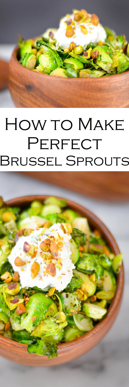 How to Roast Brussel Sprouts w. Step by Step Video