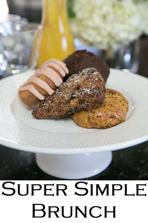 Super Simple Brunch Setup. Super Simple Galentine's Day Brunch Setup. Celebrate your girlfriends with this ladies brunch setup. Semi-homemade everything and a brunch sangria recipe!