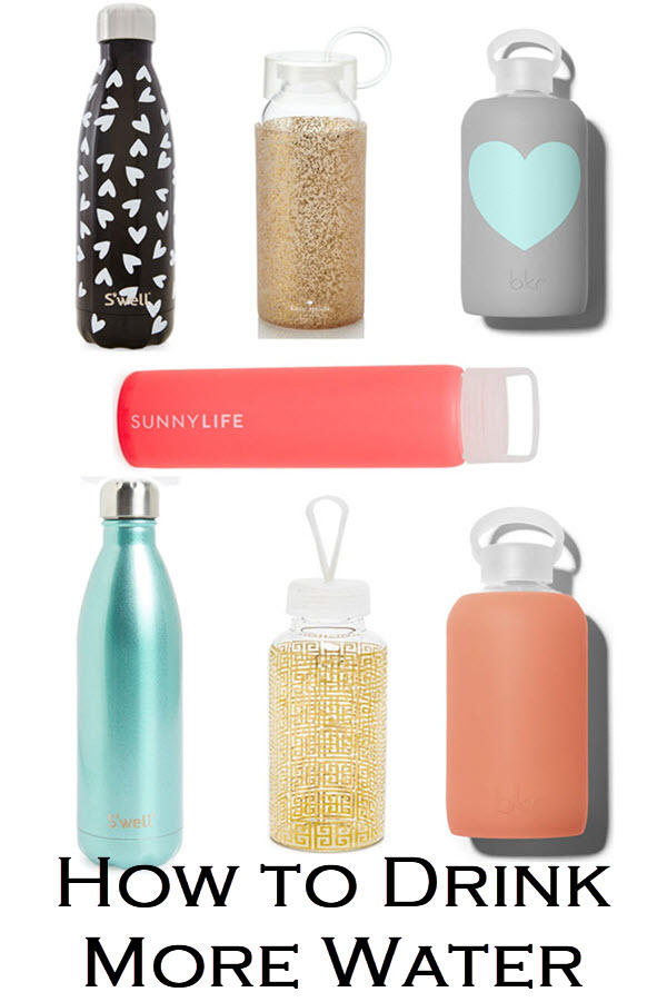 Tips for How to Drink More Water. Stay hydrated throughout the day with easy steps to stay hydrated with cute water bottles.