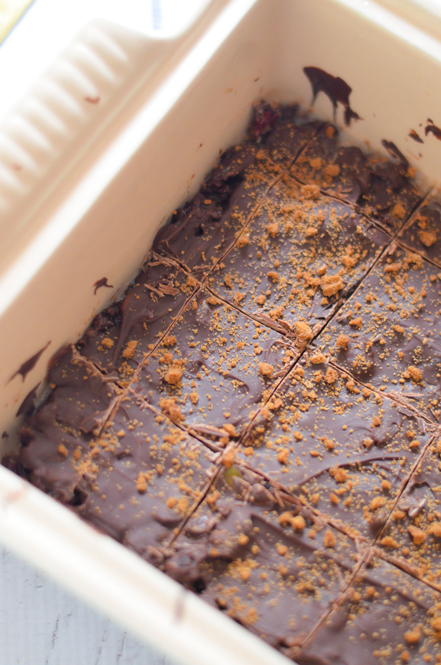 Chocolate Tiffin Recipe with Candied Orange - Easy Scottish Dessert Recipe