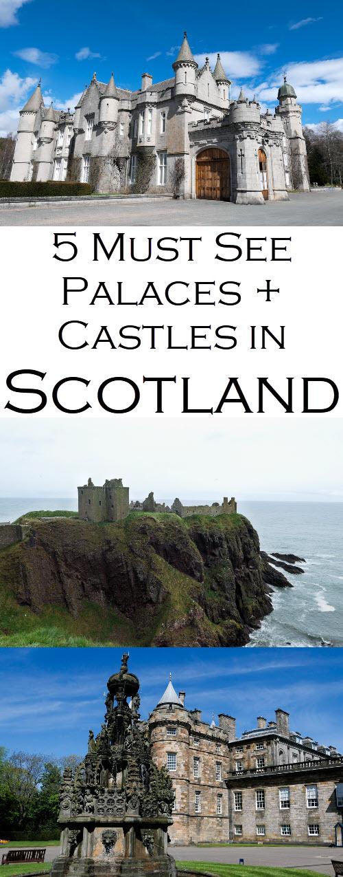 Scotland Palaces + Castles to Visit. Best Scottish historical sites as part of this Scotland Travel Guide Series. #travel #lpworldtravel #Scotland #UnitedKingdom #Britain #travelblog #travelguide