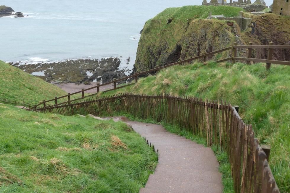 Scotland Palaces + Castles to Visit - Dunnottar Castle