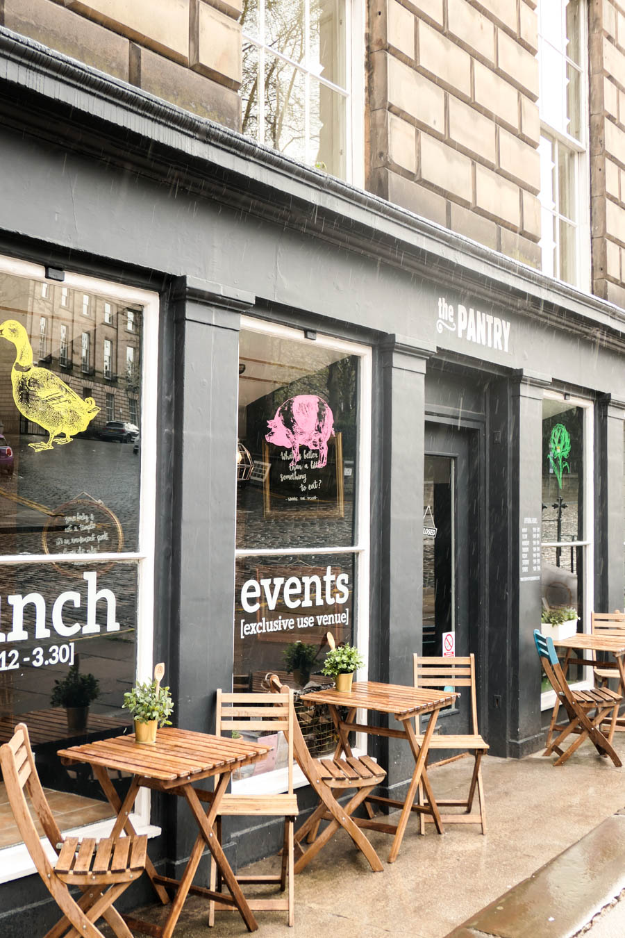 Stockbridge Edinburgh Restaurants Travel Guide - The Pantry Stockbridge - Best Breakfast in Edinburgh