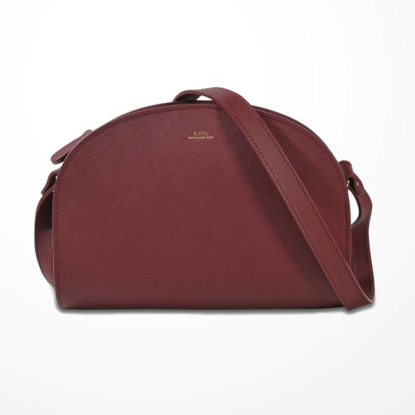 APC Demi Lune Bag Review in Burgundy