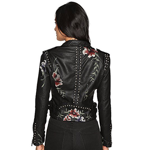 BLANKNYC Embroidered Leather Jacket Review