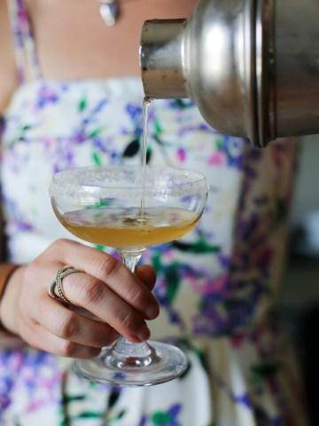 Edinburgh Gin Rhubarb Recipe - Whiskey Cocktails for Summer