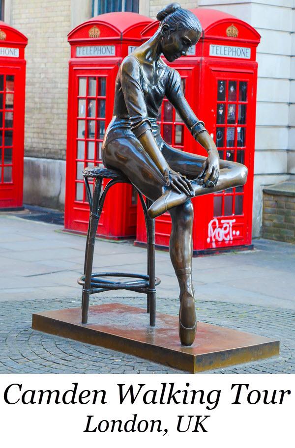 Camden Walking Tour in London, UK. Authentic London Walking Tours in Soho + Covent Garden. Wondering what to do in London? Best Tour in London Travel Guide. #london #unitedkingdom #uk #england #ueorpeanvacation #travel #travelblogger #lpworldtravels #soho #travelguide