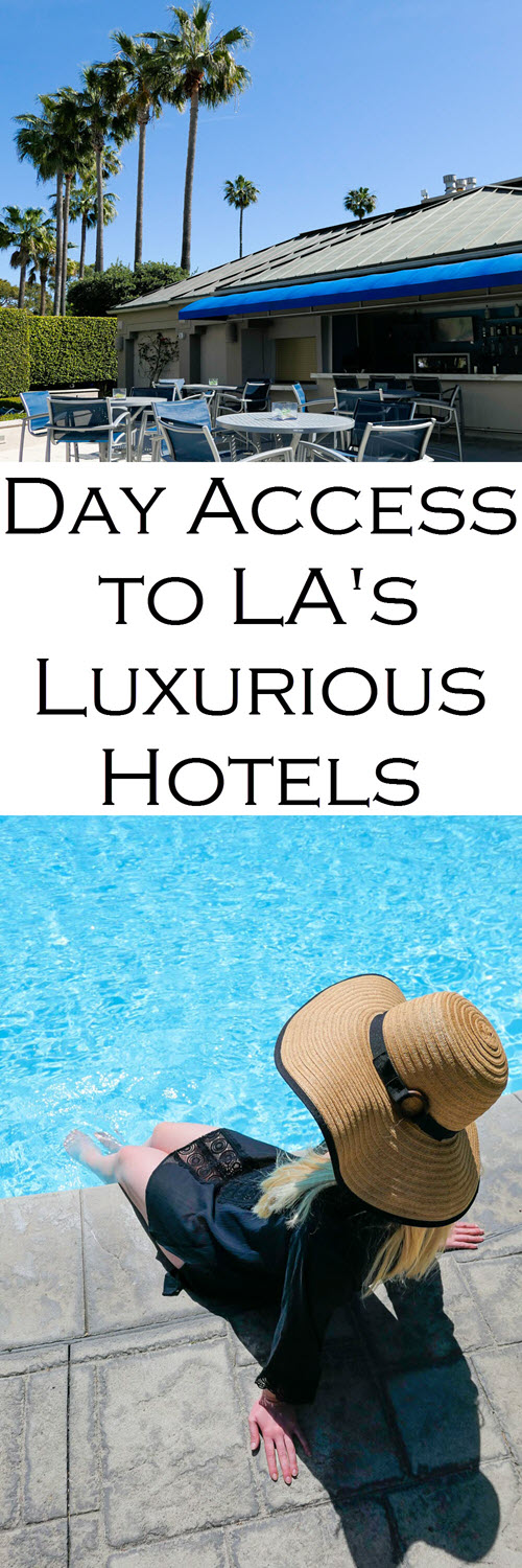 How to See the Best Pools in LA. DayAxe Review. How to visit Luxury hotels and pools in LA. LA Travel Guide. #losangeles #beverlyhills #santamonica #hollywood #travelguide #summer #summervacations #losangeles #travelblog