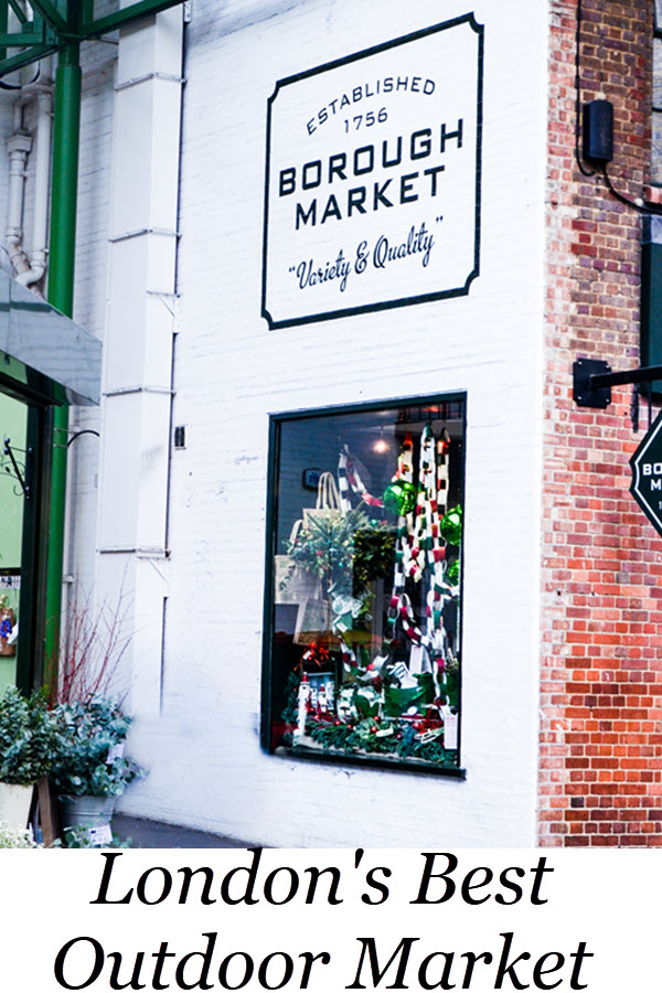 London's Best Outdoor Market - a guide to Borought Market. Borough Market Guide in London. What to do in London, UK. Travel Guide to Farmers Market's in London, England. #travel #travelblog #london #lpworldtravels #uk #unitedkingdom #england #travelguide #wanderlust