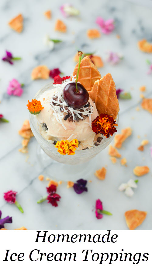 Ice Cream Toppings for adults. These ice cream sundae ideas are made with adult flavors with and without alcohol). Enjoy this summer dessert again! Soaked Dried Cherries Recipe. #desert #dessertlover #icecream #sundaes #foodblog #foodblogger #whiskey #driedfruit #adults #adultsonly #datenight #lmrecipes