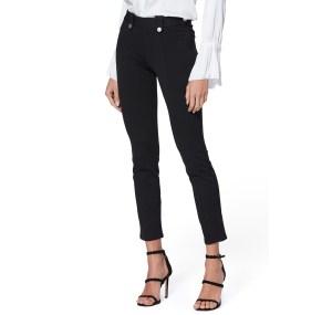 PAIGE Ponte Crop Black Pants