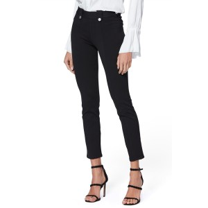 PAIGE Ponte Crop Black Pants