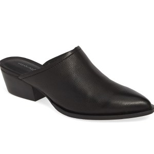 Treasure & Bond Pointy Toe Black Mules