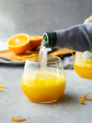 Turmeric Cocktail - Turmeric Orange Spritzer