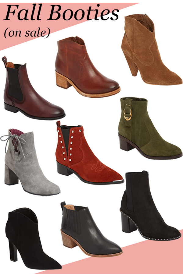 Fall 2018 Booties for Women. These stylish short boots for women are a fall closet essential. #fallfashion #fasllstyle #boots #outfitideas #fashionblog #fashionblogger #nordstrom