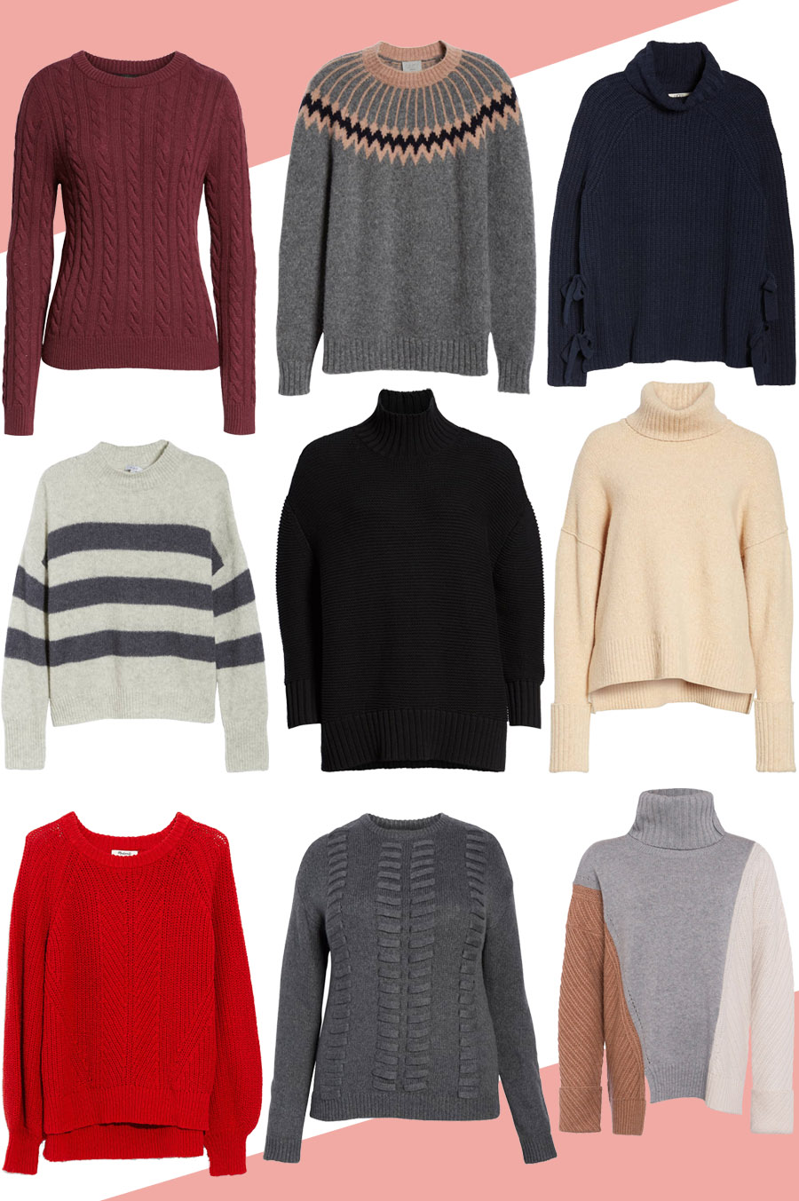 Best Fall Sweaters 2018 for Women