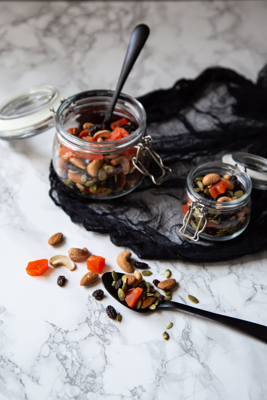 Halloween Trail Mix - Healthy Halloween Snack Recipe