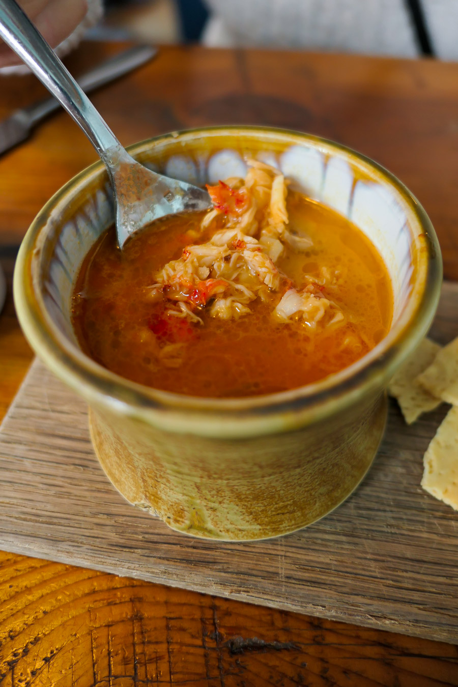 Portland Maine Things to Do and Restaurants - Eventide Lobster Bisque