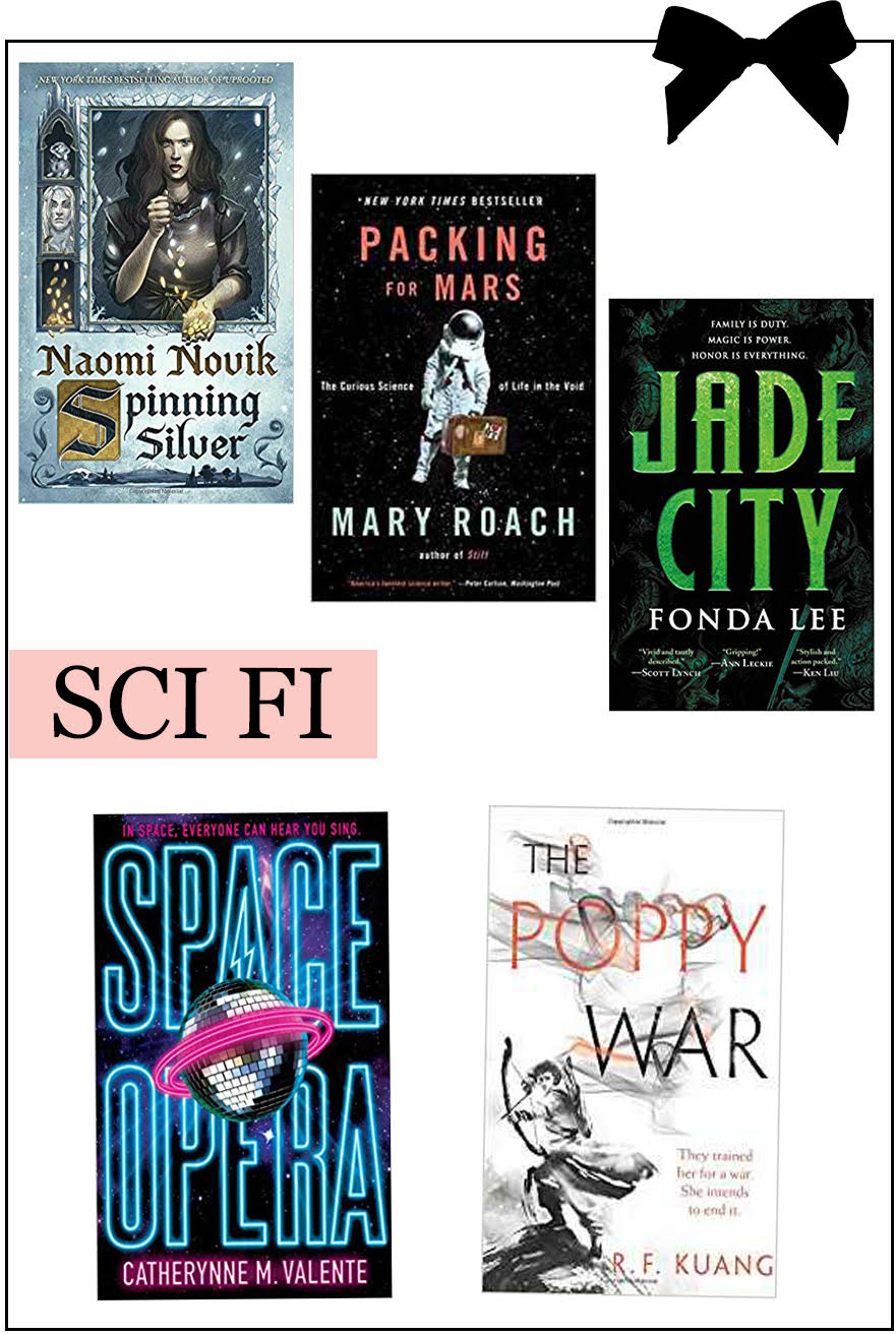 Book Gift Guide - Christmas 2018 - Science Fiction