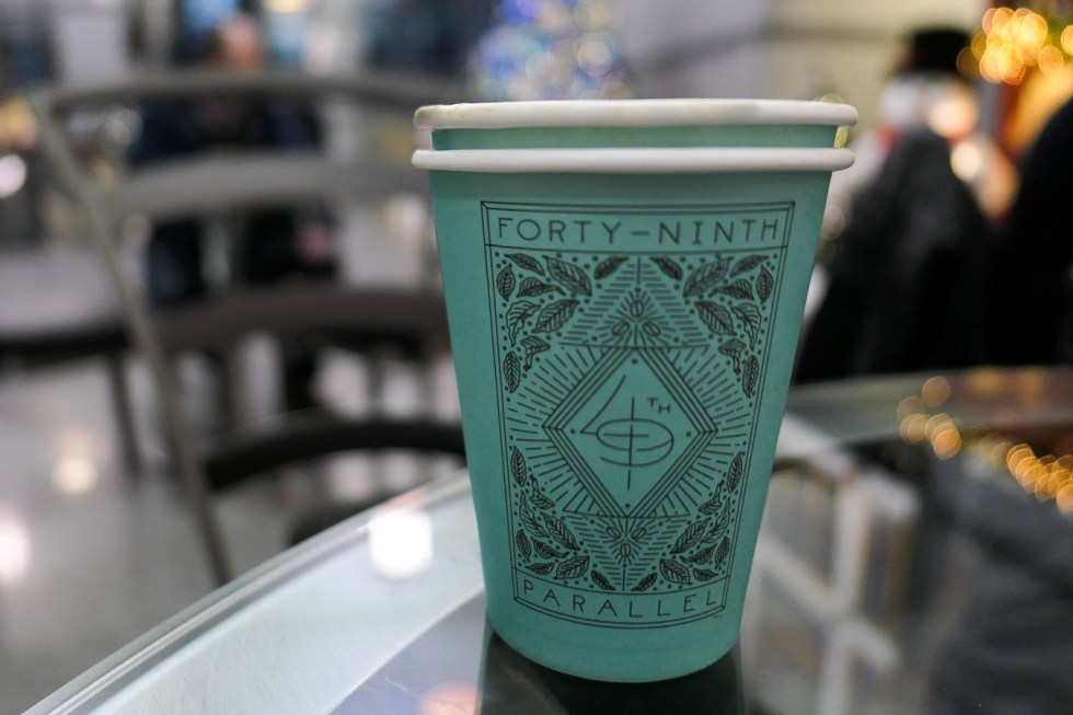 Must Visit Vancouver Restaurants and Coffee Shops Casual - 49th Parallel Coffee