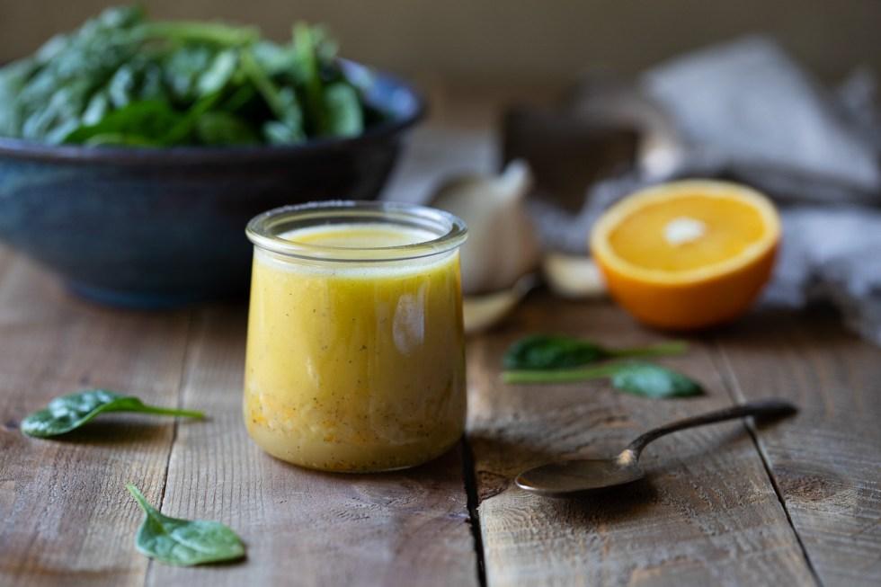 Fresh Orange Salad Dressing Recipe