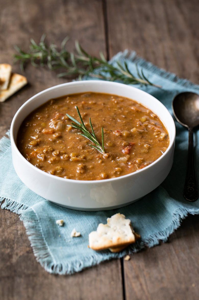 One Pot Lentil Soup
