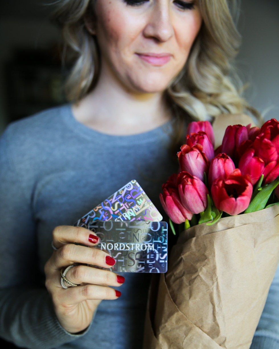 Galentine's Day Giveaways -Nordstrom Gift Card Giveaway