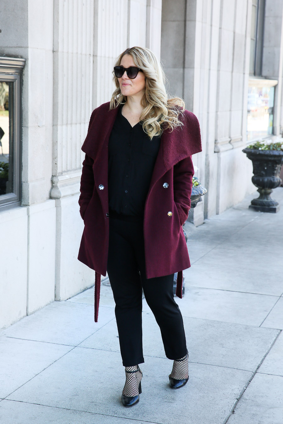 How to Wear a Jumpsuit in Winter